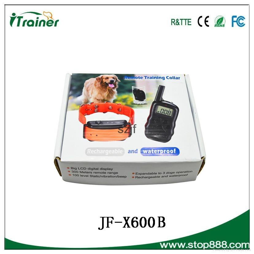 JF- X600B Remote pet training collar 5
