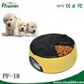 High qualoty automatic pet dog bowl feeder PF-18 9