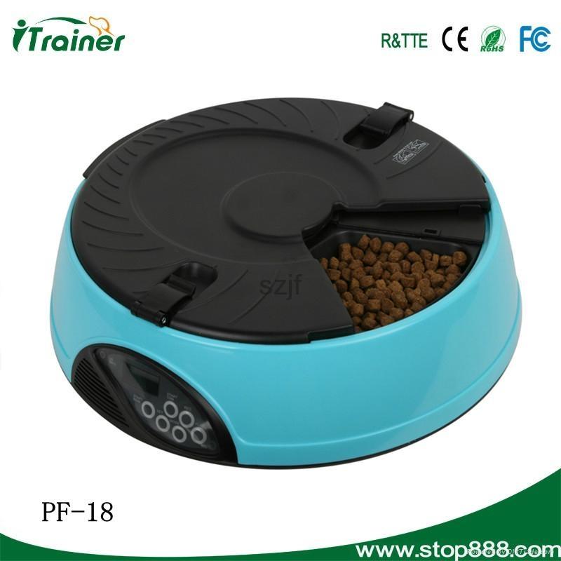 High qualoty automatic pet dog bowl feeder PF-18 2