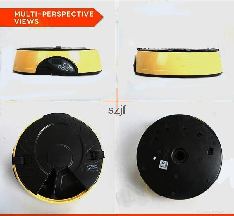 High qualoty automatic pet dog bowl feeder PF-18 6