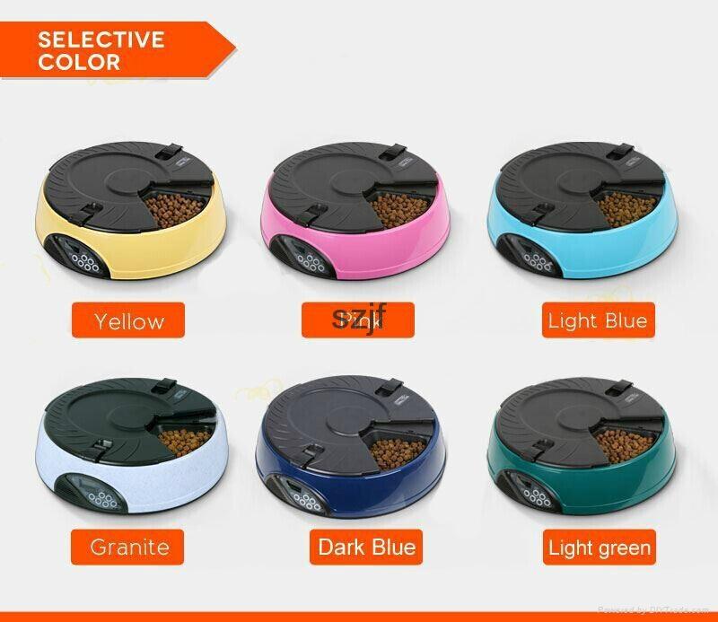 High qualoty automatic pet dog bowl feeder PF-18 5