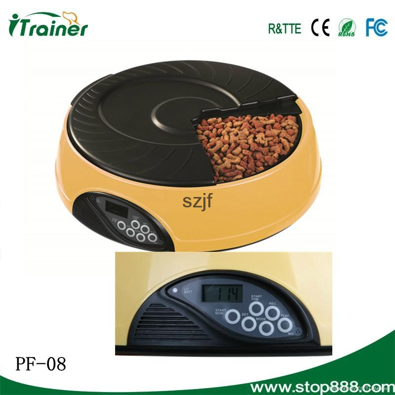 LCD Screen Automated Rabbit Feeder PF-08,dog feeder 3