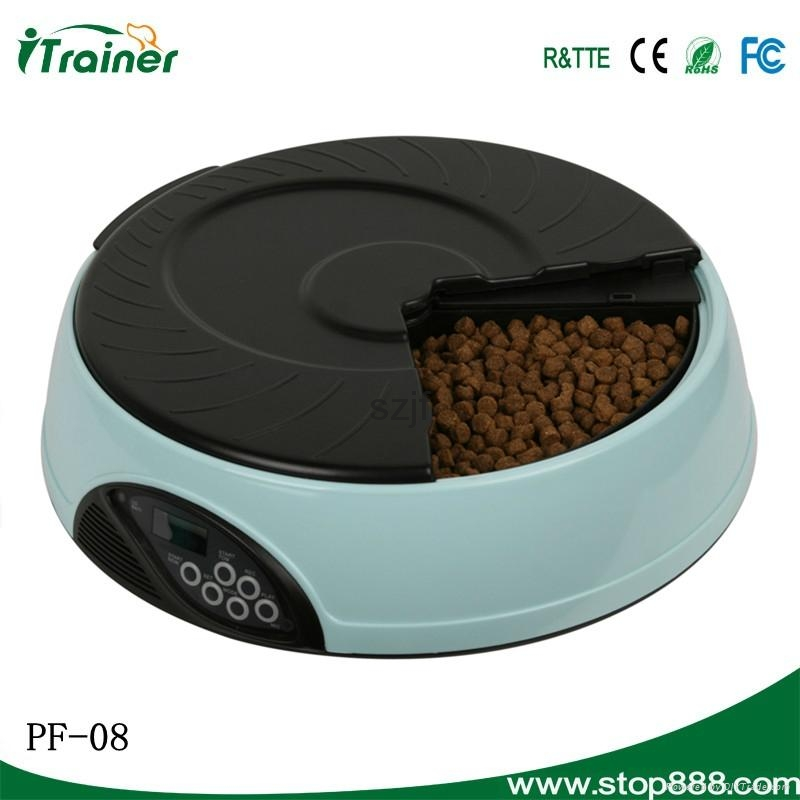 LCD Screen Automated Rabbit Feeder PF-08,dog feeder 2