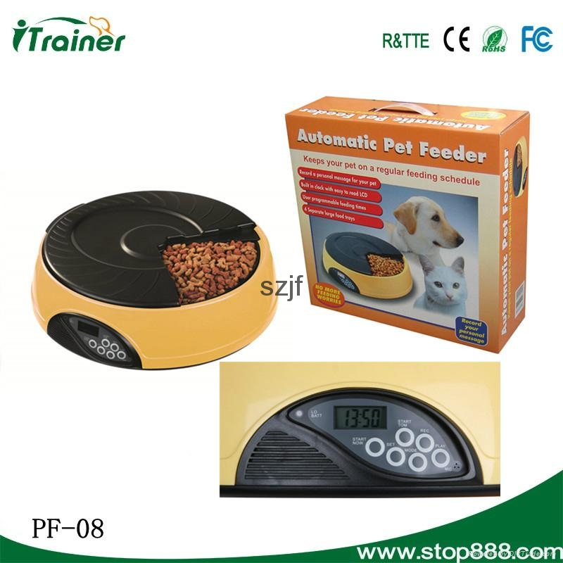 LCD Screen Automated Rabbit Feeder PF-08,dog feeder 7