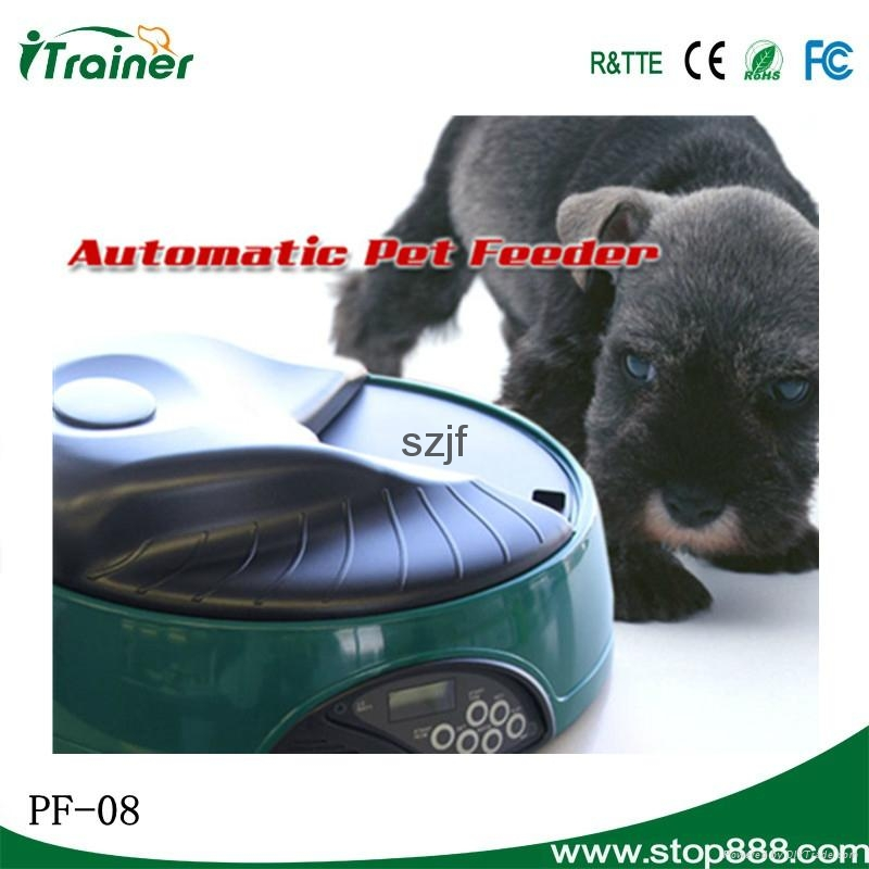 LCD Screen Automated Rabbit Feeder PF-08,dog feeder 6