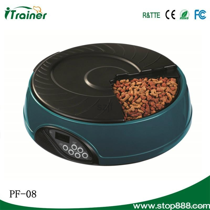 LCD Screen Automated Rabbit Feeder PF-08,dog feeder 9