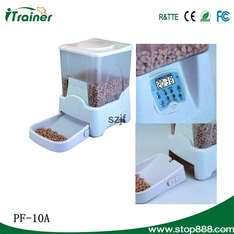 2015 electric automatic timed pet food dispenser PF-10A 5