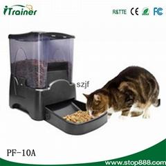 厂家直销豪华型大容量宠物自动喂食器定时播放录音狗碗可在线批发
