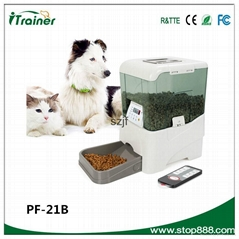 PF-21B 2015 new designed automatic programmable pet feeder, pet automatic feeder