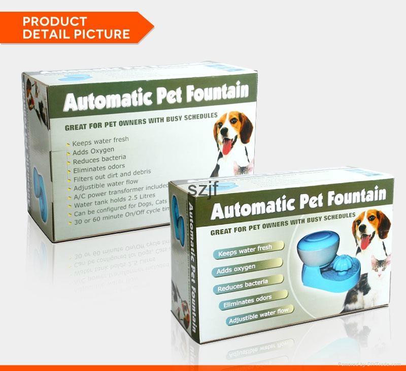 PW-03 Elegant Automatic Dog Water Dispenser 13