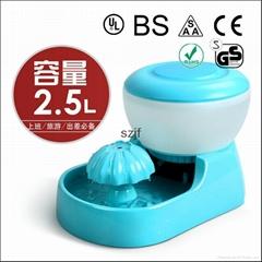 【厂家供应】自动宠物喂水器 PW-03 循环 过滤