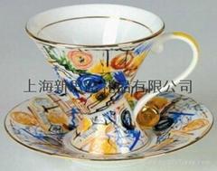 陶瓷咖啡杯碟