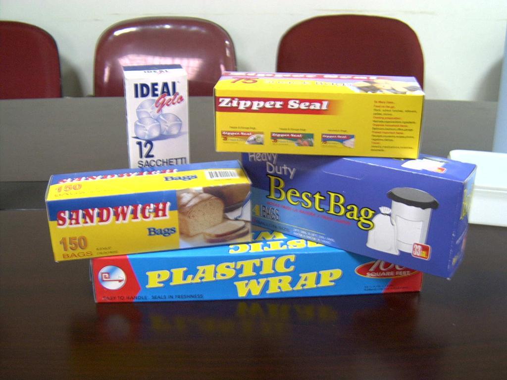 彩盒裝塑料袋