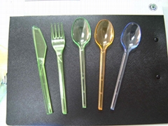 PS Cutlery(Transparent & Colorful)