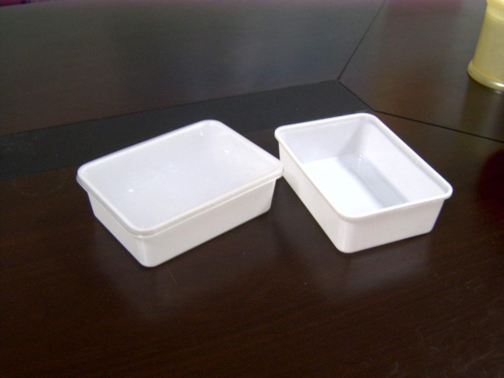 PP/PS 饭盒(连盖) 1