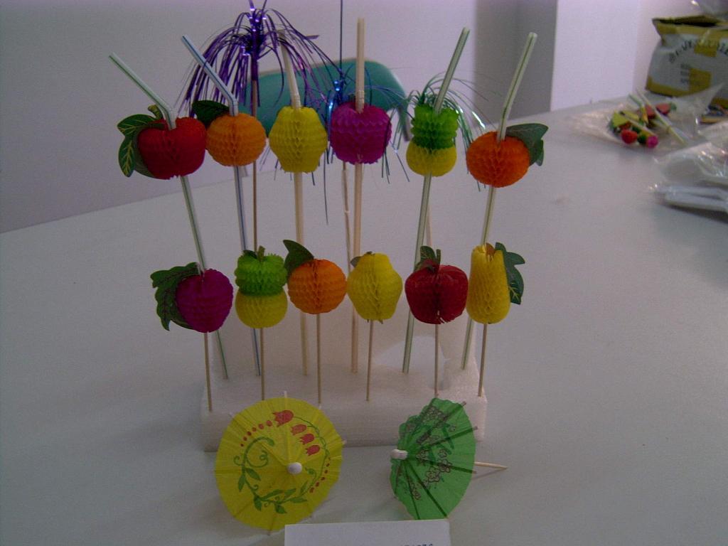 水果花簽 1