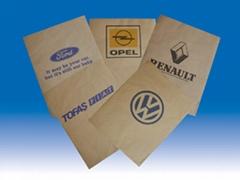 Paper Floor Mat with logo