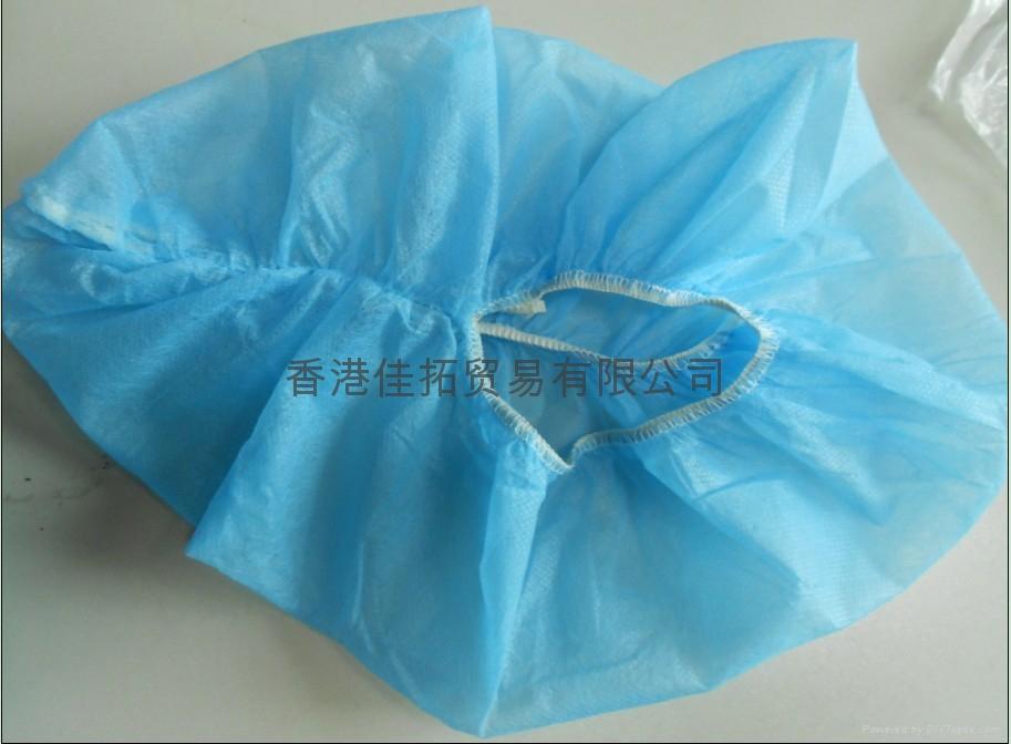 Anti-slip disposable PE/CPE/PP Shoe Cover 1