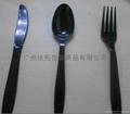 塑料刀叉套装