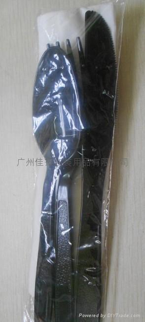 塑料刀叉套装 2