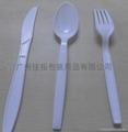 塑料刀叉套装 3