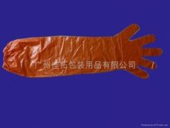 兽医用薄膜长手套