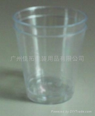 PLASTIC LIQUOR CUP