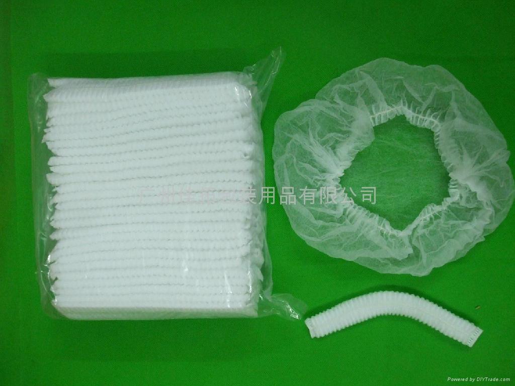 Non-woven bouffant cap / clip cap / disposable medical cap 1