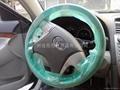 Plastic Steering Wheel Cover on Roll