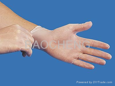 Disposable PE/CPE/TPE gloves,strong elastic