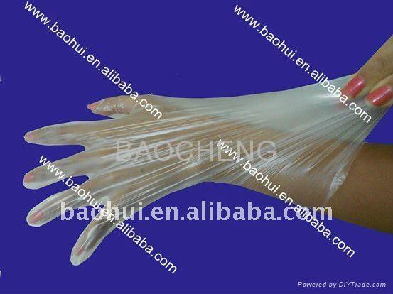 TPE gloves/ Elastic hybrid gloves for food preparing