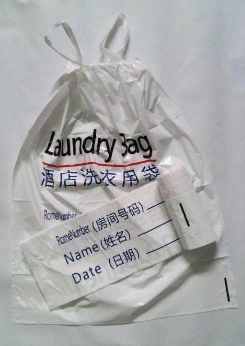 工廠直銷穿繩垃圾袋 2