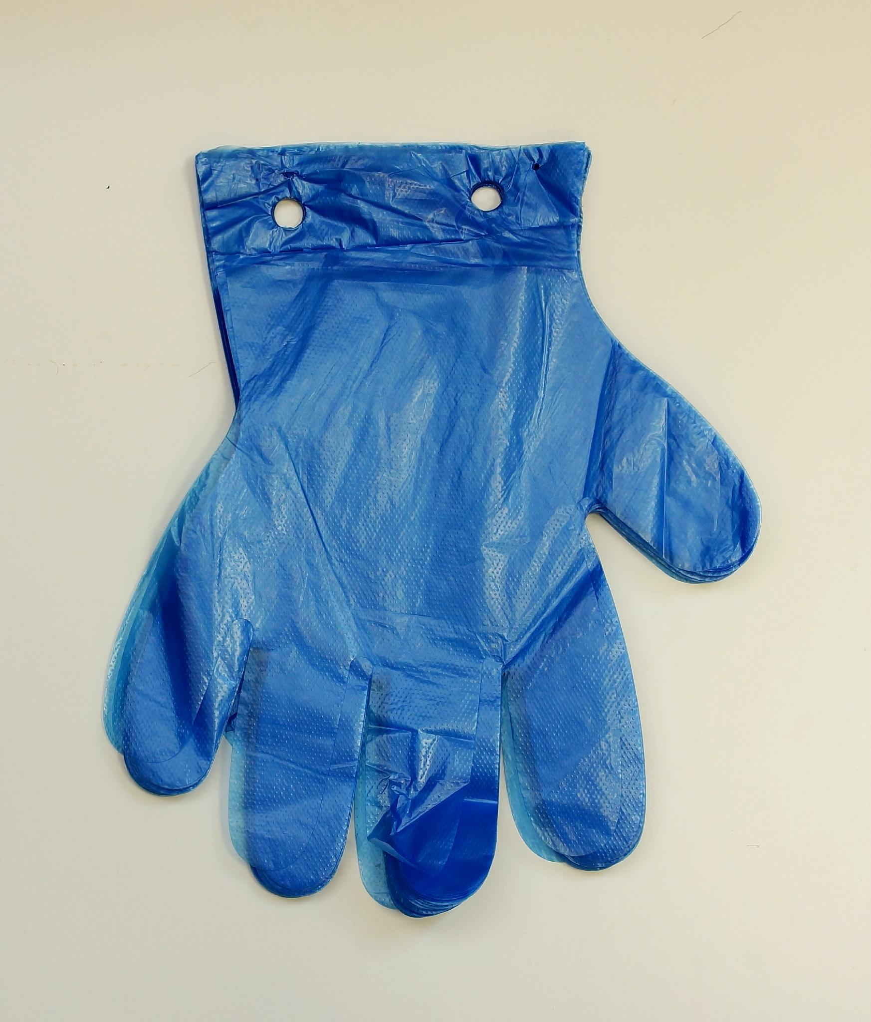 Disposable pe gloves china manufacturer pe plastic for Diy plastic gloves