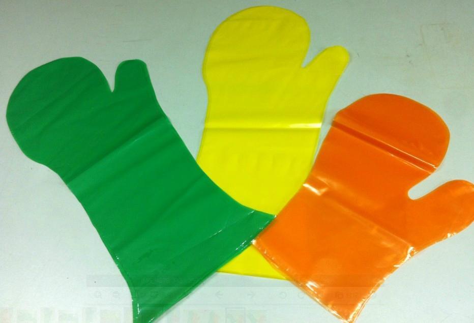 食品级塑料手套 薄膜手套 2