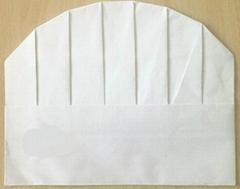 一次性紙質廚師帽