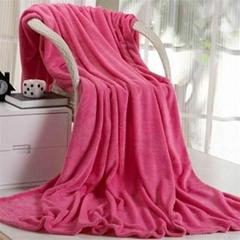 舒面绒毛毯
