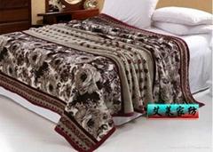 雪貂绒毛毯