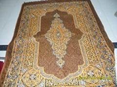 絎縫朝拜毯