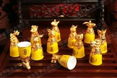十二生肖酒具