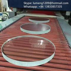 borosilicate round glass