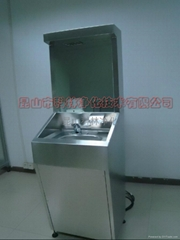 不鏽鋼304全自動給皂洗手烘乾一體機