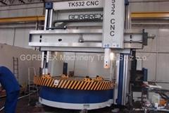 CNC Vertical Lathe GORBREX TKV 532