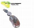 LX-602透明迷你光电鼠