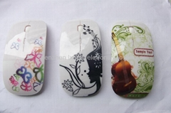 Pretty water print  wireless mouse