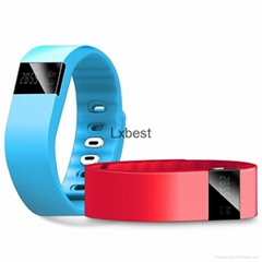 Smart bracelet with with heart rate monitoring