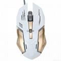 7 Buttons LED USB Wired Optical Gaming Mouse 2
