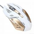 新款游戏鼠标 6键 款式时尚 价格优惠 手感好 深圳厂家直销 实惠 3
