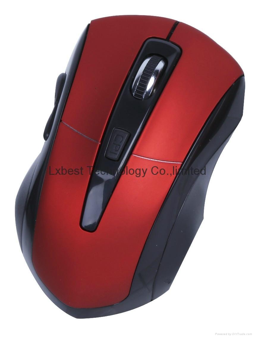 无线鼠标 2.4G无线滑鼠 工厂直销 LXW-271 1