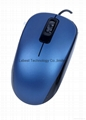 Factory directly selling Wired USB Optical MOuse FOR PC LAPTOP