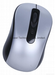2.4g wireless optical mouse with mini receiver in blister package
